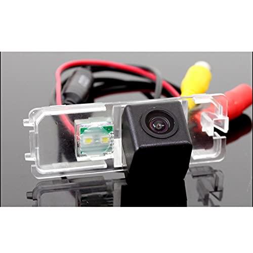 QWERQF Cámara de visión Trasera dedicada HD a Prueba de Agua con visión Nocturna,para Volkswagen Lupo 3L 1998~2005