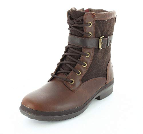 UGG Women's Kesey Motorcycle Boot, Chestnut, 6.5 B US