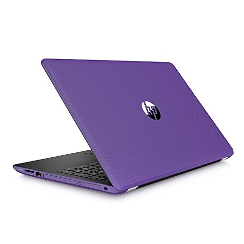 """2018 HP 15.6"""" HD SVA BrightView Flagship Laptop PC, Intel 8th Gen Core i5-8250U Quad-Core, 12GB DDR4, 2TB HDD, Bluetooth, Windows 10 (Purple) (Purple)"""
