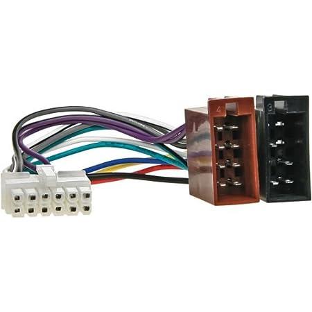 Pioneer Autoradio Anschlusskabel Buchse 12pol 27x10mm Elektronik