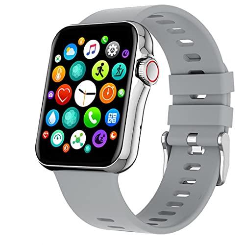 SMART Watch Touch Screen SPORT Tracker.Smart Uhr 1.6inch Touchscreen Fitnessaktivität Tracker Unterstützung Blutdruck Herzfrequenzschlaf Erkennung Grau