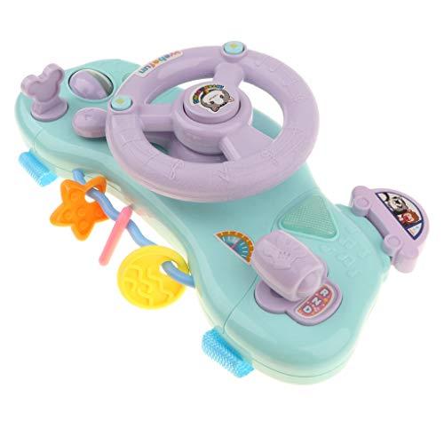 D DOLITY Elektrisches Kinderwagen Lenkrad Mit Sound Licht Baby pädagogische Spielzeug