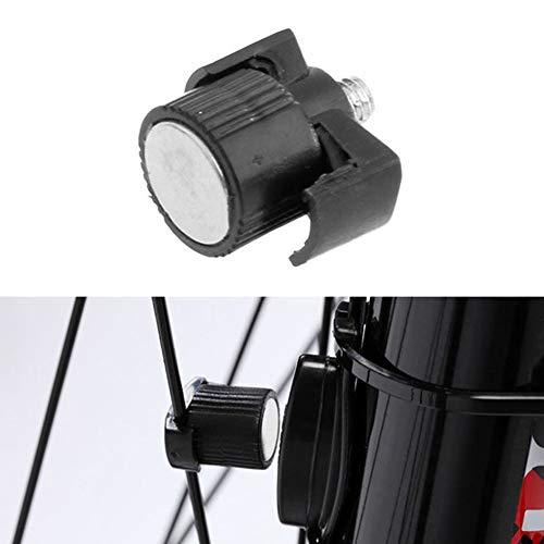 Imán universal para rueda de ciclismo de LNIMIKIY, con radios, ideal para el entrenamiento en bicicleta, 16 mm x 12 mm