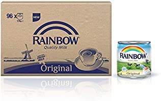 Rainbow Original Vitamin D Evaporated Liquid Milk - 96 x 170 gm