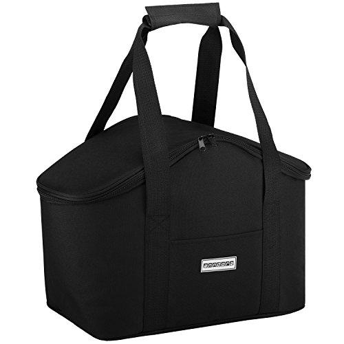 anndora Kühltasche 20 Liter - schwarz