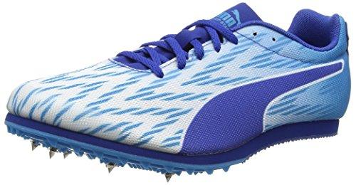 Puma Evospeed Star 5.1 Trail Running Shoes, Puma White-Blue Danube-True Blue, 10.5 UK