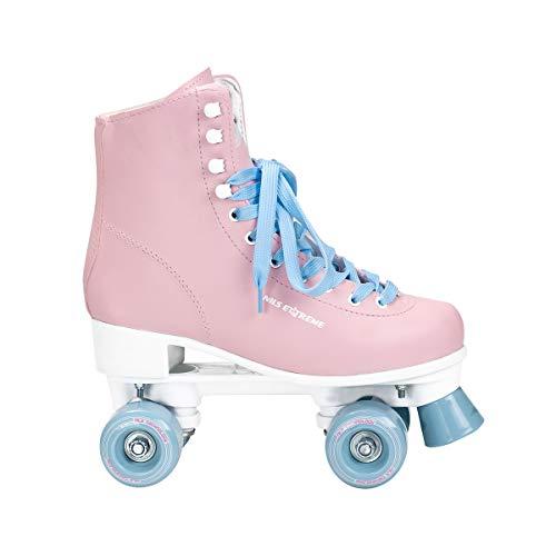 NILS Damen Mädchen Retro Rollschuhe Extreme NQ8400S pink Gr. 37