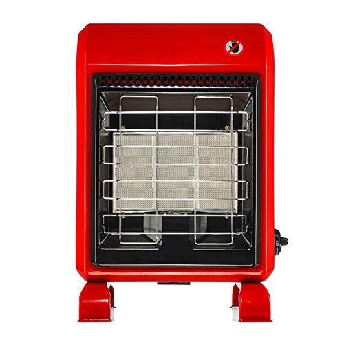 QILIN Household Heater, 1.5KW-4.2KW Indoor Safe Portable Propane Radiant Heater, Floor Heater, Red