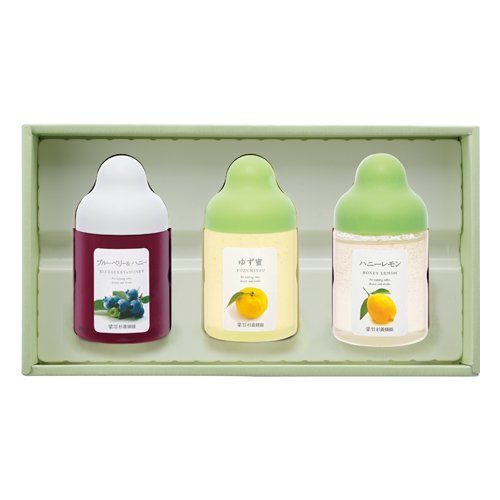 L3P(ブルーベリー、ゆず蜜、レモン)
