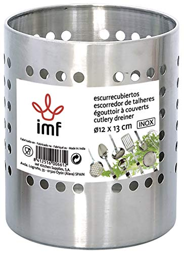 Imf Serie INOX Escurrecubiertos, Stainless Steel