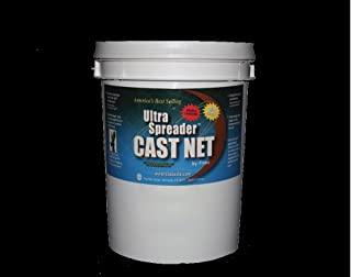 FITEC 12060 GS-1000 Ultra Spreader and Cast Net with Tape