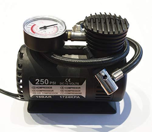 KRAWEHL Mini compressore d'aria - portatile- 12V DC - 250 psi -12V/80W Ref. AZ.5304.0088584