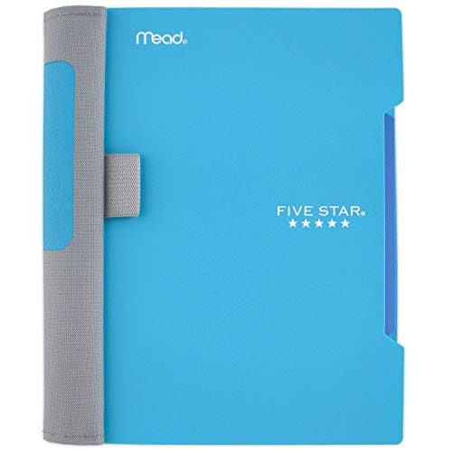 "Five Star Advance Small Spiral Notebook, 1 Subject, College Ruled Paper, 100 Sheets, 7"" x 4-3/8, Teal (73153)"