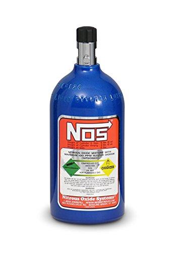 NOS 14710NOS Blue Aluminum 2-pound Nitrous Bottle