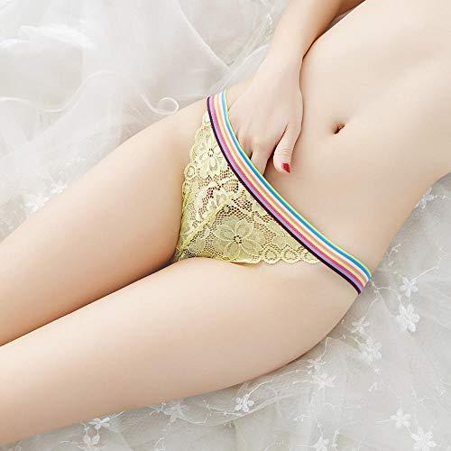 Tangas amarillos para mujer sexy