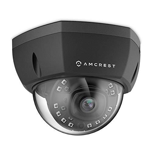 Amcrest 5MP Outdoor PoE IP-Kamera, UltraHD-Überwachungskamera, 2,8-mm-Objektiv, IP67-wetterfeste Sicherheit, IP5M-1176EB (Schwarz)