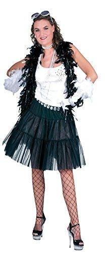 Bristol Novelty AC273 lange onderrok kostuum, meerkleurig