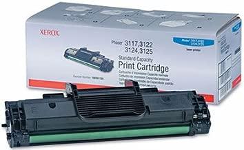 Xerox Genuine Brand Name, OEM 106R01159 Black Toner Cartridge (3K YLD) for Phaser 3117, Phaser 3122, Phaser 3124, Phaser 3125 Printers