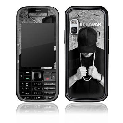 Nokia Xpress Music 5730 Aufkleber Schutz Folie Design Sticker Skin Kool Savas Fanartikel Merchandise Tot oder Lebendig - Album Artwork
