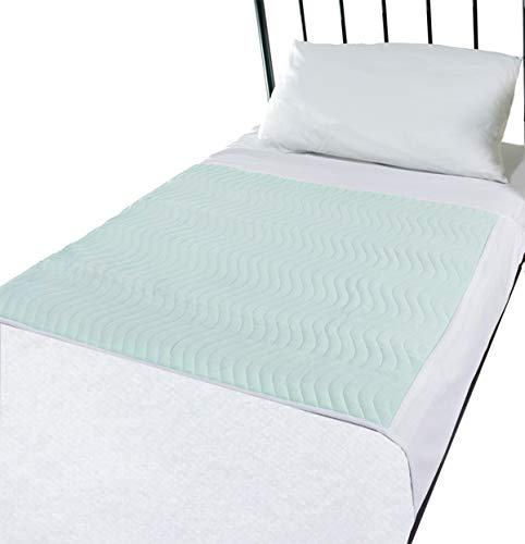Comfortnights Economy Bed Pad 75 x 90 with Tucks, Twin Pack