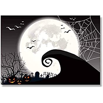 Christmas Theme Party 2020 Amazon.: Allenjoy 7x5FT Nightmare Before Christmas Themed