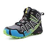 Kauson Invierno Zapatillas de Trekking para Hombres Zapatillas de Senderismo Botas de Montaña Antideslizantes Impermeable AL Aire Libre Zapatillas de Deportes Zapatillas de Trail Running para