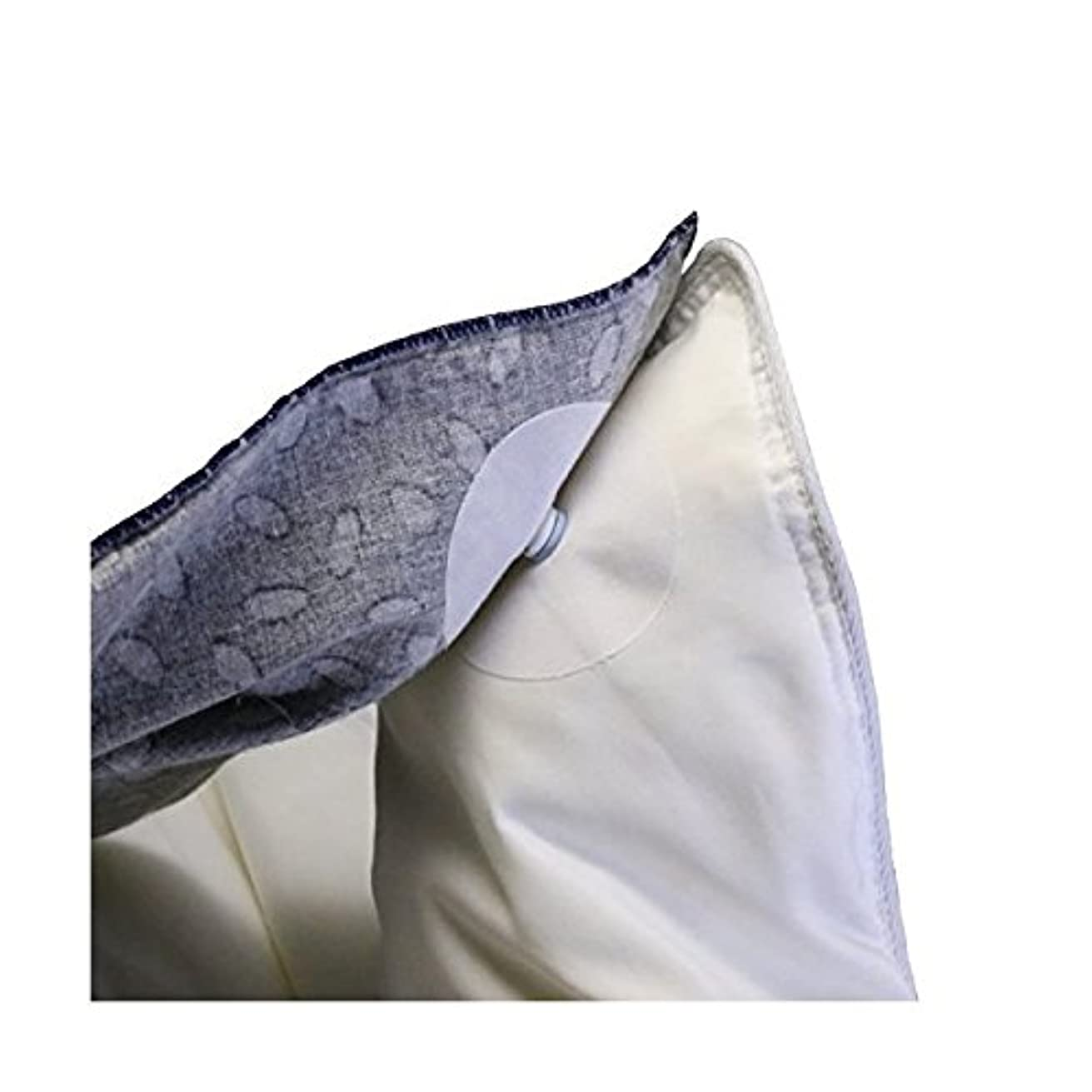 Corner Keepers Duvet Cover Snaps - Holds Your Comforter in Place All Night, No More Shifting, Easy Iron-On Install, Strong Simple Solution, Less Bulky Than Clips