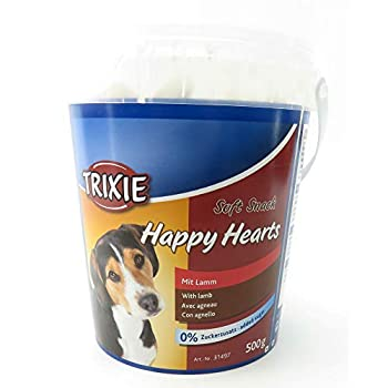 TRIXIE Soft Snack Happy Hearts pour Chien 500 g