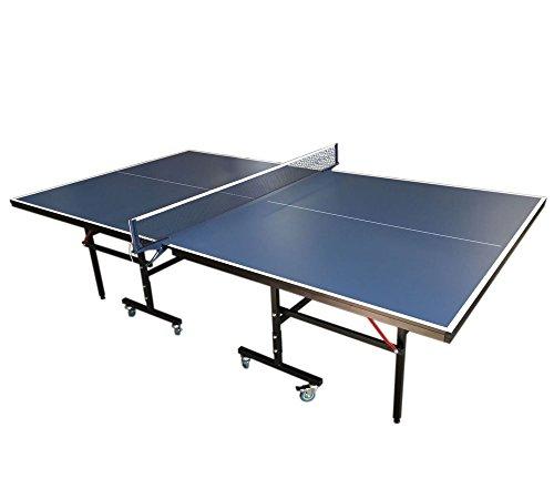 Mesa de ping pong mesa compacta interior - azul pingpong pingpong hight calidad