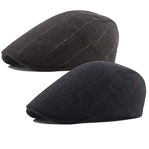 YSense Gorros de Punto Sombreros y Gorras de Invierno Hombre