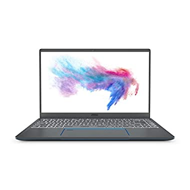 MSI Prestige 14 A10SC-020 14″ Ultra Thin and Light Professional Laptop Intel Core i5-10210U GTX1650 MAX-Q 16GB DDR4 512GB NVMe SSD Win10Pro