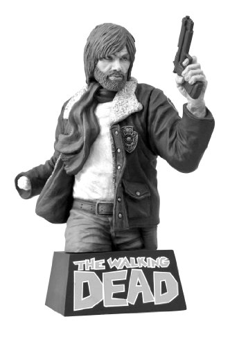 Walking Dead Rick Grimes B & W Version Poitrine Banque (Multicolore)