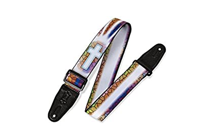 Christian Stained Glass Guitar Strap