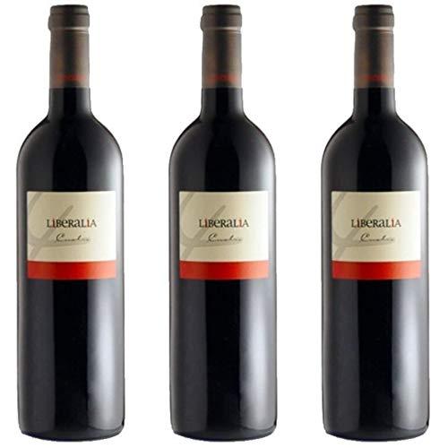 Liberalia Vino Tinto - 3 Botellas - 2250 ml