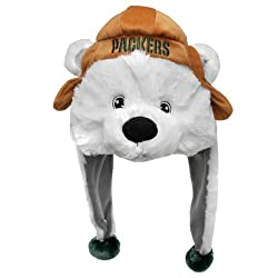 NFL Green Bay Packers Thematic Mascot Dangle Hat