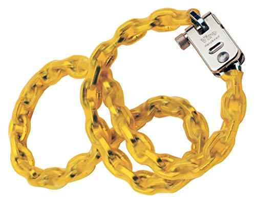Viro Luc/vir55120 fietsslot zilver/geel 1200 x 5,5 mm