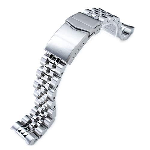 20mm Angus Jubilee orologio per Seiko MM300SBDX001, spazzolato/lucido, v-clasp