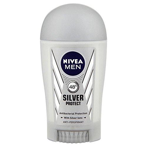 Nivea Hommes Argent Protéger Anti- Transpirant Stick Déodorant (40Ml)