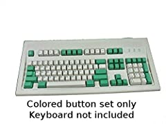 You will only receive the colored keys totaling 37 Printed Green Keys