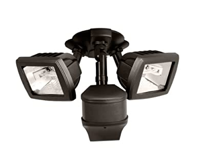 EATON Lighting 270 Degree 200W Halogen Precision Plus Doppler Radar Motion Security Floodlight