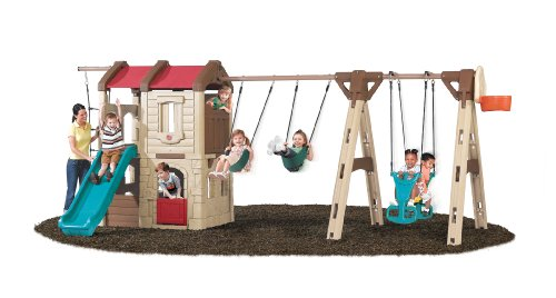 Buy Discount Step2  Naturally Playful Adventure Lodge with Glider (New Colors)