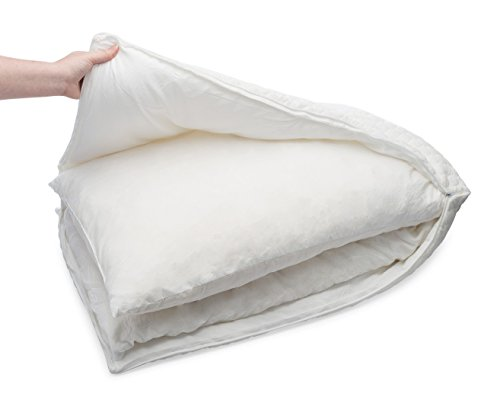 Simply Sova Adjustable Loft Shredded Memory Foam Pillows for Sleeping Queen Size - Extra Firm Pillow with Machine Washable Cover