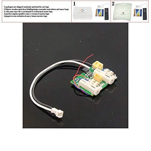 huicouldtool AR6400 AR6410L DSM2 6-Kanal Ultra Micro-Receiver mit integriertem für RC Flugzeug ESC 2 linear Servos gebürstet,1 pc