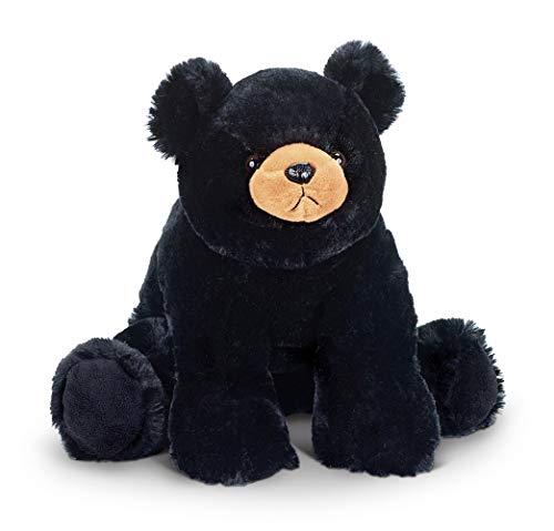 Bearington Bandit Plush Stuffed Animal Black Bear Teddy, 18'