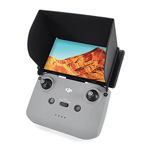Mavic Mini 2 Sunshade with Lanyard Cable Accessory Compatible with DJI Mini 2 / Mavic Air 2 / DJI Air 2S Drone Remote Control Accessory for 4.4-6.7 inch Phone