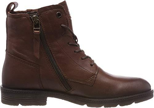 camel active Aged 70, Damen Biker Boots, Braun (Cognac 2), 38 EU (5 UK)
