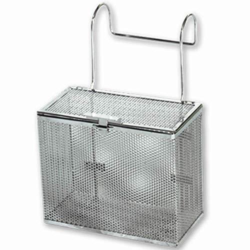 Sani-Matic COP Parts Basket, URWB-5-17 (Standard), Hanger Style, 3/16' Diameter Perforation, Electropolished Finish