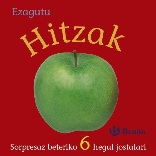 Ezagutu Hitzak (Euskara - 0 URTE + - MANIPULAGARRIAK (UKITZEKO ETA JOLASTEKO LIBURUAK) POP UP-AK - Ezagutu)