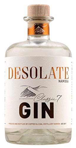 Desolate Gin Classic 7 - Dry Gin aus Namibia (1 x 0,5 l)