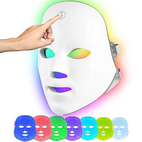 Masque de Luminothérapie à LED pour le...